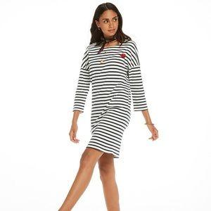 Stripy Scotch & Soda dress